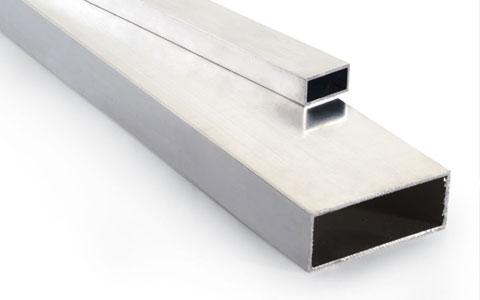 Tubos rectangulares de aluminio for Colores de perfiles de aluminio